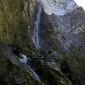 Nugget Falls and Earl Parrot's Grotto. A popular day hike on day five.- Middle Fork of the Salmon River - Day 5