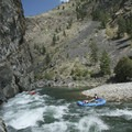 Cliffside Rapid gets bigger at lower flows.- Middle Fork of the Salmon River - Day 5