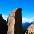 Climbing the Edge of Time is a spectacular way to experience the Rocky Mountains.- Edge of Time