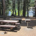 Day use picnic area.- Packer Lake Day Use Area