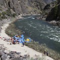 Solitude Camp is not frequently used because it is so far down canyon. It is a great spot to stop for lunch on a longer day 6.- Middle Fork of the Salmon River - Day 6