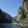 Serene canyon beauty.- Middle Fork of the Salmon River - Day 6
