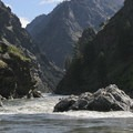 Clamshell Rock in the neighborhood of 5.5 feet.- Middle Fork of the Salmon River - Day 6