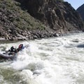 Rubber Rapid for an 18-foot oar boat at 6 feet.- Middle Fork of the Salmon River - Day 6