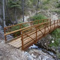 A newly constructed bridge over Ramshorn Creek.- Middle Fork of the Salmon River Trail – Day 1