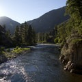 Hiking early in the morning offers some of the most beautiful light.- Middle Fork of the Salmon River Trail – Day 4
