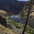 More fine scenery in the Grouse Necks.- Middle Fork of the Salmon River Trail – Day 5