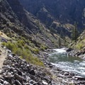 The hike through Jack Creek Canyon (RM 70 to RM 71) is stunning.- Middle Fork of the Salmon River Trail – Day 6