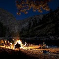 A starry night at Elk Bar in the Impassable Canyon.- Middle Fork of the Salmon River Trail – Day 6