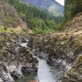 Mule Creek Canyon in July.- Rogue River: Grave Creek to Foster Bar