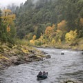 Fall brings vibrant color to the Rogue.- Rogue River: Grave Creek to Foster Bar