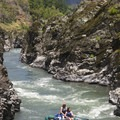 Mule Creek Canyon in May.- Rogue River: Grave Creek to Foster Bar