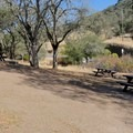 The picnic area at Rockville Hills Regional Park.- Rockville Hills Regional Park