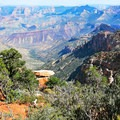 The Grand Canyon's North Rim is visited by relatively few people.- Saddle Mountain Trail