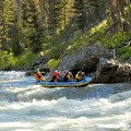 The first Class IV rapid, Velvet Falls, comes early on the first day.- Middle Fork of the Salmon River - Day 1
