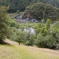 The large, open meadow above Horseshoe Bend Rapid.- Rogue River Trail - Day 1