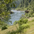 A nice view from the trail.- Rogue River Trail – Day 2