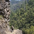 The Rogue River Trail through Huggins Canyon.- Rogue River Trail – Day 3