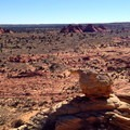 Looking south toward South Coyotte Buttes.- The Wave