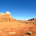 Looking north across North Coyote Buttes from near The Wave.- The Wave