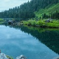 Views from Heather Lake.- Heather Lake