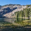 High Lake at sunset.- Slide Lake via High Lake