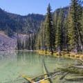 Little Slide Lake.- Slide Lake via High Lake
