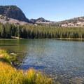 Slide Lake.- Slide Lake via High Lake