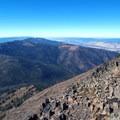 Summit views, looking northwest toward John Day.- Strawberry Mountain via Strawberry Lake