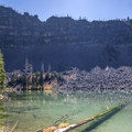 Little Slide Lake.- Strawberry Mountain Wilderness Loop