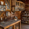 The bunkhouse building on the mine site has a fully-equipped kitchen.- Castle Dome Mines Museum and Ghost Town