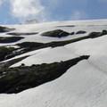 Base of Coleman Glacier.- Mount Baker via Coleman Glacier