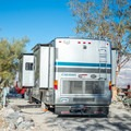 RV camping.- Panamint Springs Campground