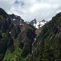 Mount Anderson (7,329') from a midpoint in the hike.- Anderson Glacier via Enchanted Valley