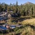 Mono Hot Springs.- Mono Hot Springs Campground
