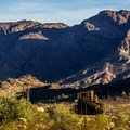 The setting for the Castle Dome mine museum is stunning!- Castle Dome Mines Museum and Ghost Town