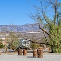 Close to Furnace Creek Visitors Center.- Fiddlers Campground