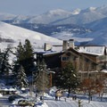 Sun Mountain Lodge during the winter months.- Sun Mountain Lodge
