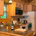 Patterson Lake Cabin kitchen.- Patterson Lake Cabins