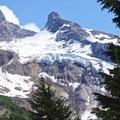 Snow-capped Yocum Ridge.- Yocum Ridge