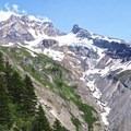 The canyon below Yocum Ridge.- Yocum Ridge