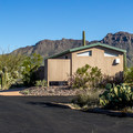 Bathrooms (but no showers) are available in each loop, but it is a long walk from some sites.- Gilbert Ray Campground