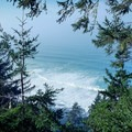 An expansive ocean view on the Saint Perpetua Trail.- Saint Perpetua Trail