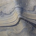 Striations in the rock formations.- Nicholson Point Park