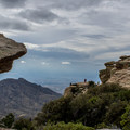 The Windy Point overlook is like a large playground of boulders and views.- Mount Lemmon Scenic Byway