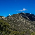 The winding road that leads up to Kitt Peak affords great views around every turn.- Kitt Peak National Observatory