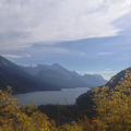 Viewpoint of Waterton Lake.- Bertha Lake