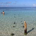 The clear waters of West Bay.- West Bay, Roatan