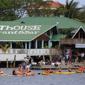 Kayaking in Half Moon Bay.- West End, Roatan