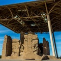 Before being protected as a national monument, the site suffered from souvenir hunters and vandals.- Casa Grande Ruins National Monument